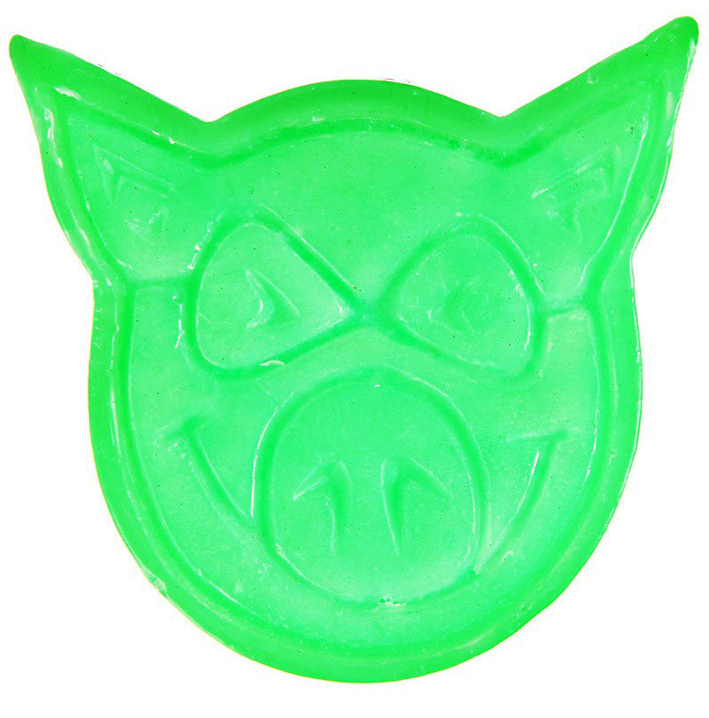 Pig Neon Skateboard Wax - Green