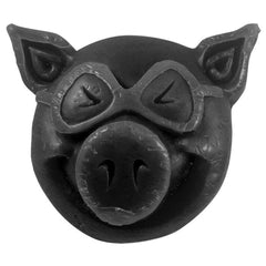 Pig Head Curb Skateboard Wax - Black