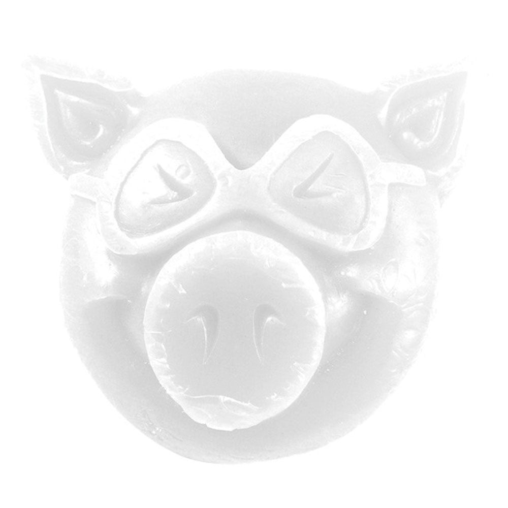Pig Head Curb Skateboard Wax - White