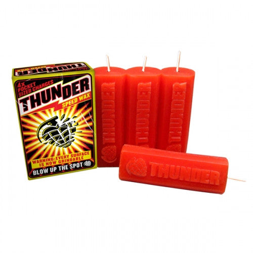 Thunder Curb Speed Skateboard Wax - Red