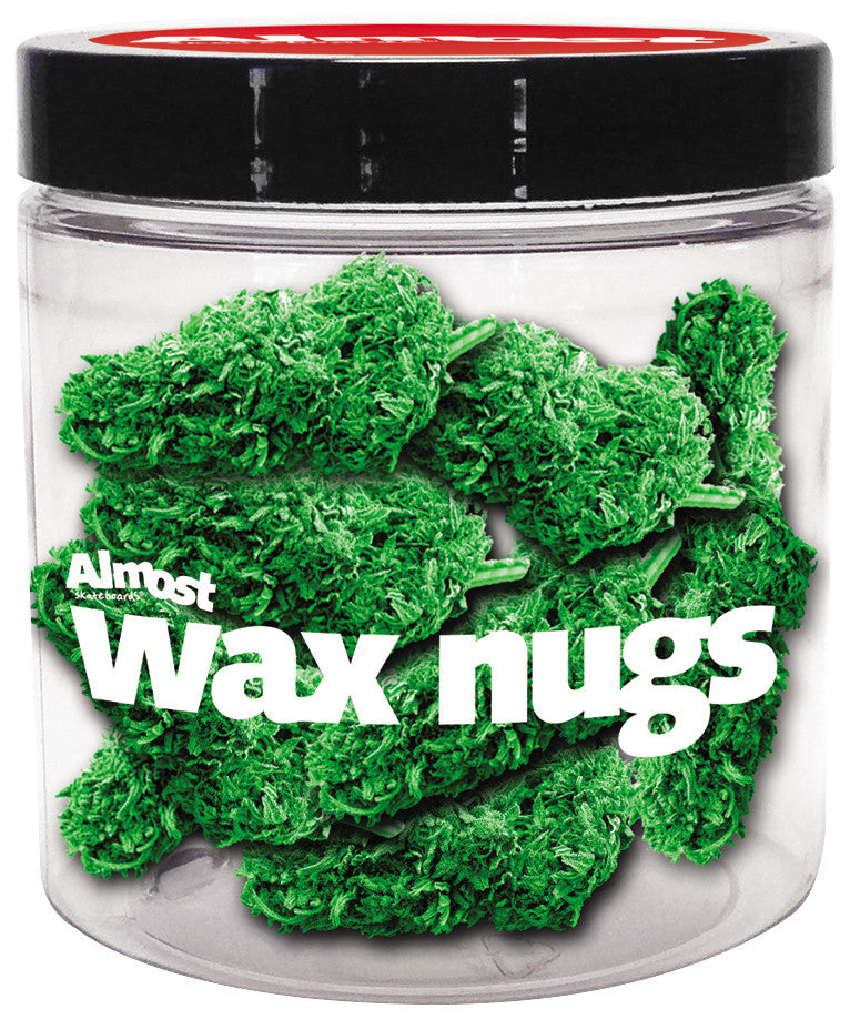 Almost Nugs Skateboard Wax - Green