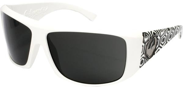 Dragon Calaca Mens Sunglasses - White