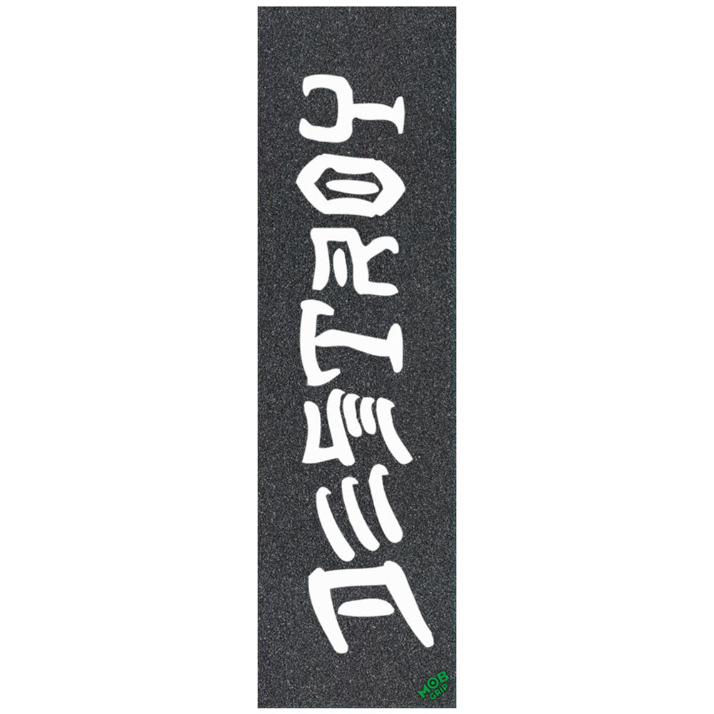 Mob Thrasher Big Destroy Grip Tape 9in x 33in Skateboard Griptape - Black (1 Sheet)