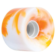 OJ Hot Juice Skateboard Wheels 60mm - Orange/White Swirls (Set of 4)