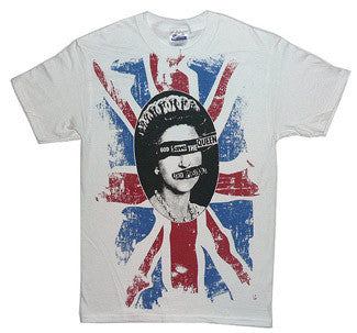 Sex Pistols Band Rotton T-Shirt - White