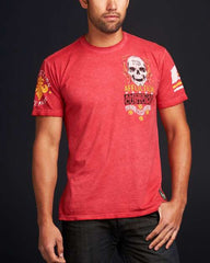 Affliction Eddie Trotta SS Tee - Red - Mens T-Shirt
