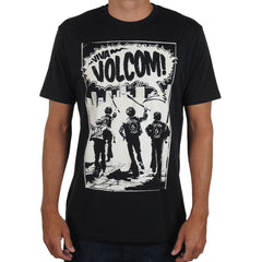 Volcom Youth Squad Mens T-Shirt - Black