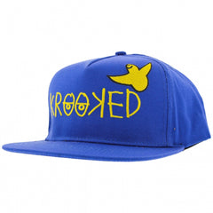 Krooked Adjustable Birdie Snapback Men's Hat - Twill