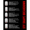 Bones STF Raybourn Vato Op V5 Skateboard Wheels - White - 56mm (Set of 4)