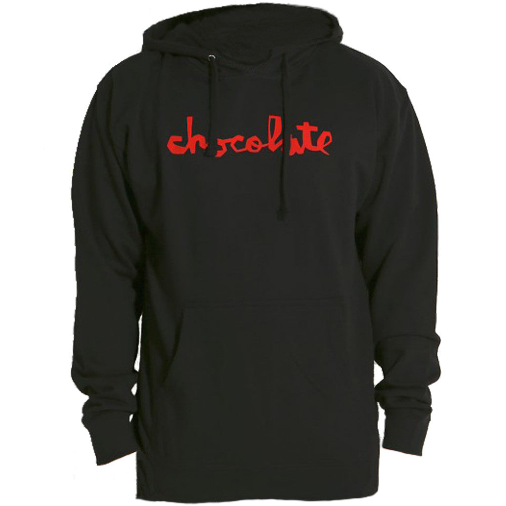 Chocolate Chunk Pullover Hoodie Men's Sweatshirt - Black