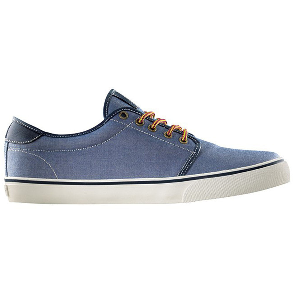 Dekline Santa Fe Skateboard Shoes - Blue/Antique Chambray