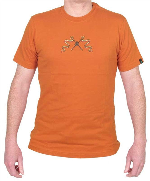 Dunkelvolk Rastaman T-Shirt - Orange - Mens T-Shirt