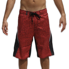 Dunkelvolk Iron Mens Boardshorts - Black