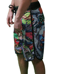 Dunkelvolk Jadeurope Mens Boardshorts - Multi