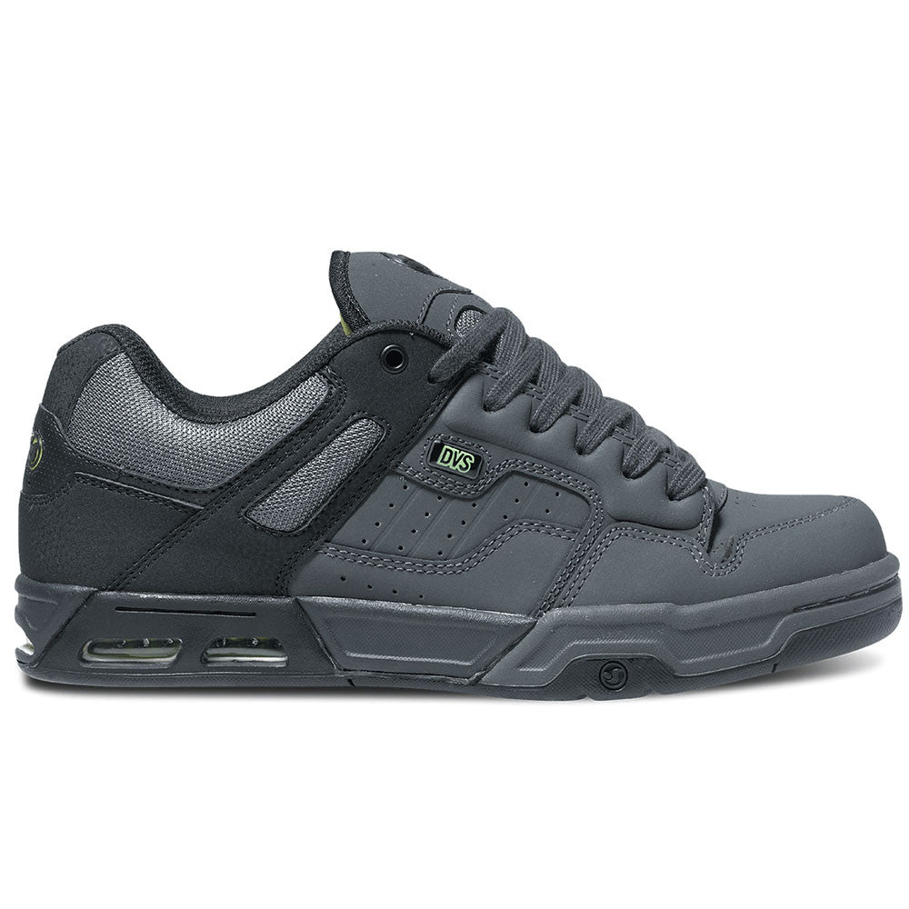 DVS Enduro Heir Skateboard Shoes - Grey/Black Nubuck 967