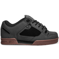 DVS Militia Skateboard Shoes - Grey/Black Gunny 021