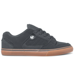 DVS Militia CT Skateboard Shoes - Black/Gum Nubuck 008