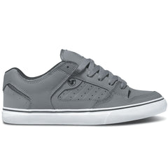 DVS Militia CT Skateboard Shoes - Grey/White Nubuck 021