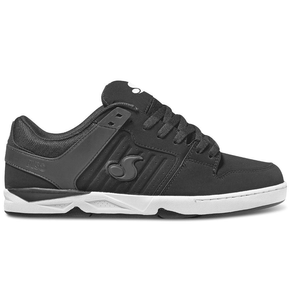 DVS Argon Skateboard Shoes - Black/White Nubuck 004