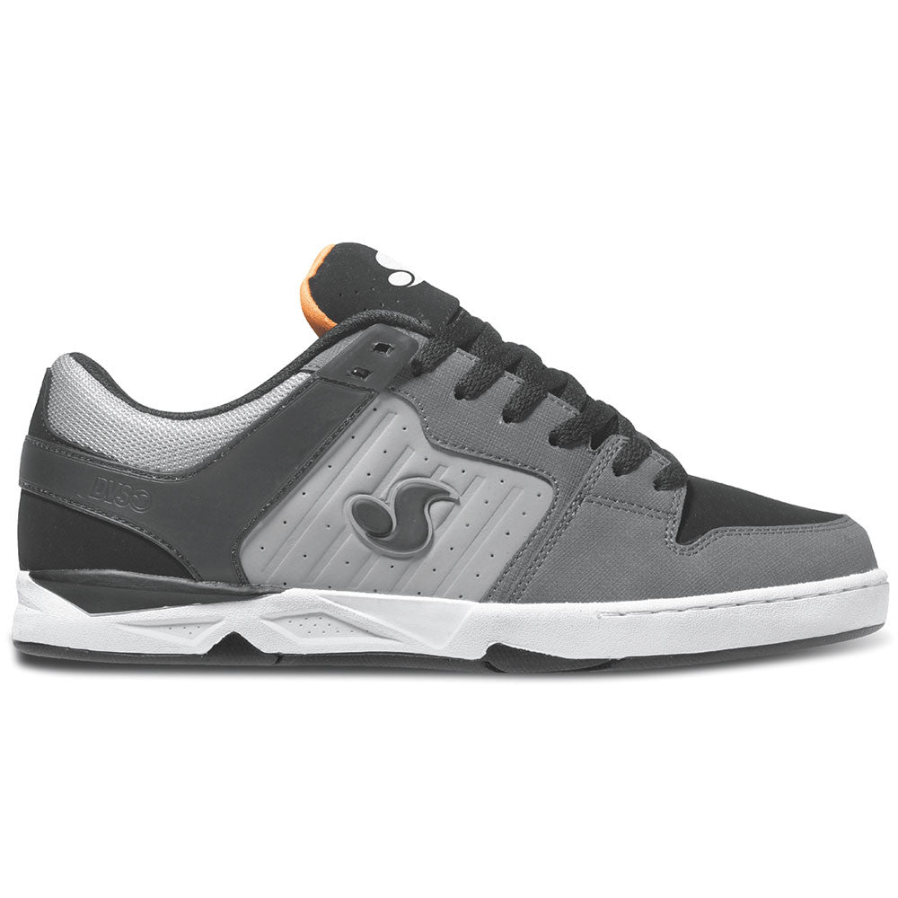 DVS Argon Skateboard Shoes - Grey/Black Dirt Nubuck 005