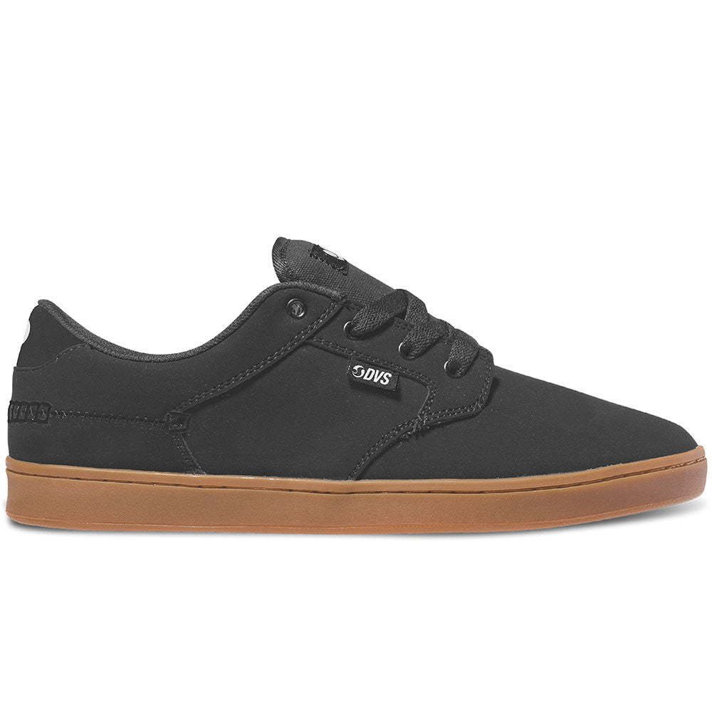 DVS Quentin Skateboard Shoes - Black Nubuck 002