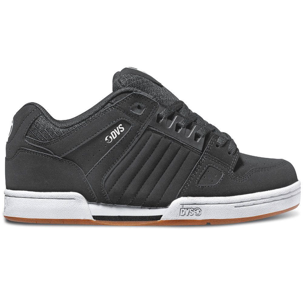 DVS Celsius Skateboard Shoes - Black Nubuck 001