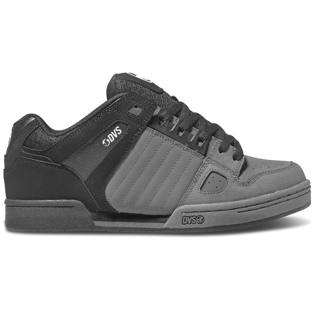 DVS Celsius Skateboard Shoes - Grey/Black Nubuck 021