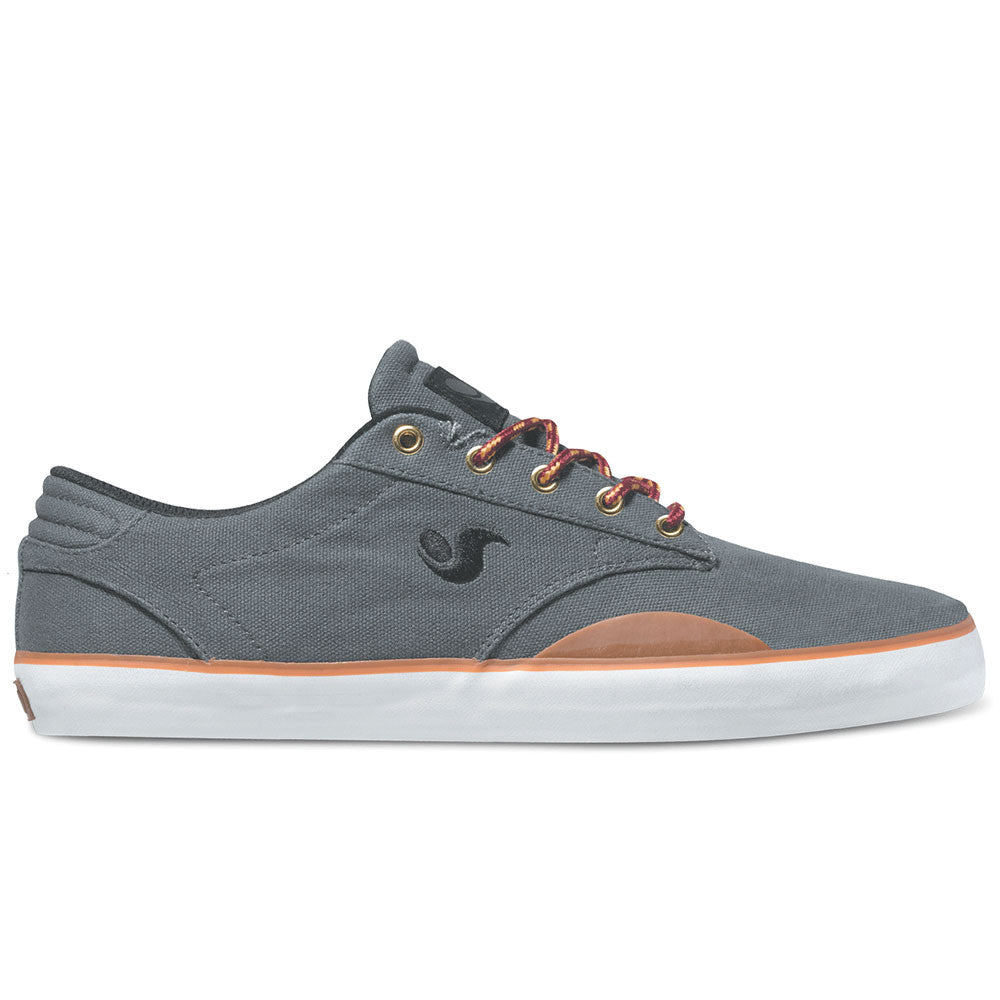 DVS Daewon 14 Skateboard Shoes - Grey Canvas 021