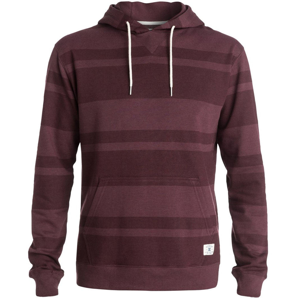 DC Rebel Stripe P/O Hooded Men's Sweatshirt - Port Royale