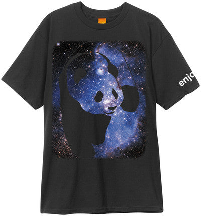 Enjoi Cosmos Panda S/S Men's T-Shirt - Black