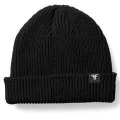 Fallen Wharf Men's Beanie - Black