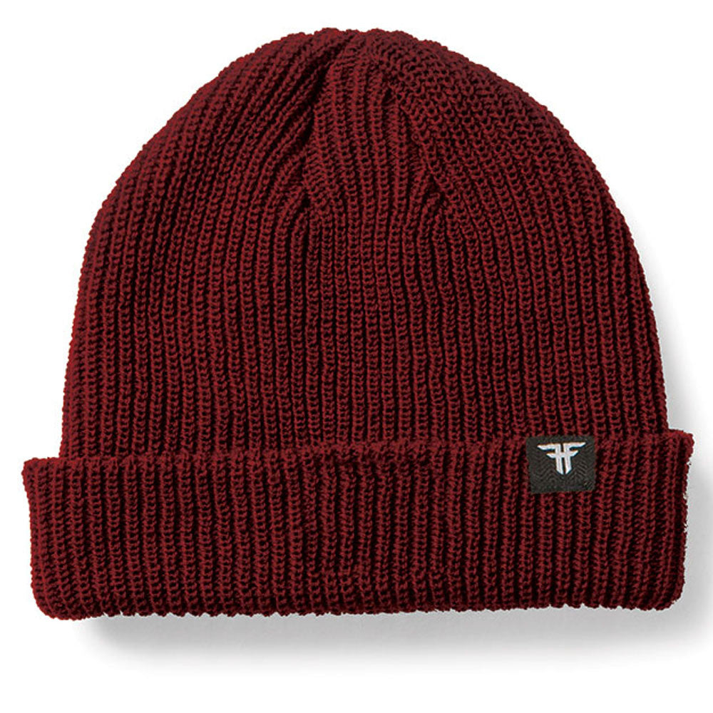 Fallen Wharf Men's Beanie - Oxblood