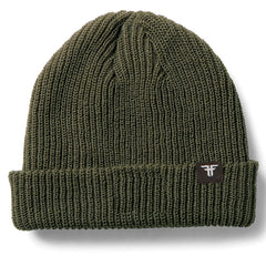 Fallen Wharf Men's Beanie - Surplus Green