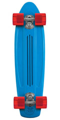 Flip Banana Board Cruzer Complete Skateboard - Blue/Red - 6.0in x 23.25in
