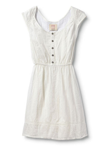 Quiksilver White Water Dress - White - Dress