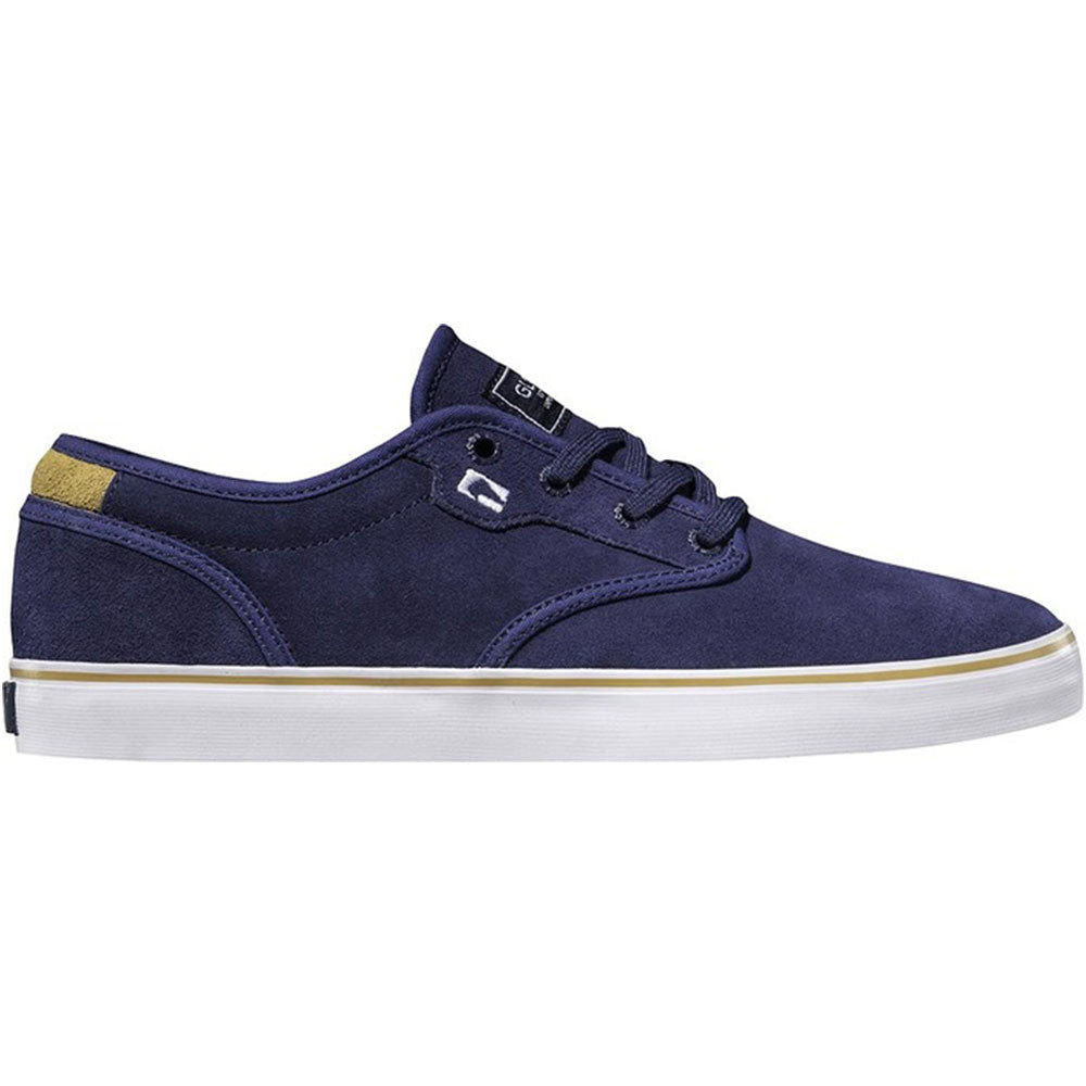 Globe Motley Skateboard Shoes - Blue/Gold