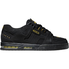 Globe Sabre Skateboard Shoes - Black/Yellow