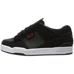 Globe Fusion Skateboard Shoes - Black/Night/Red