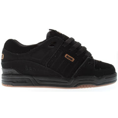 Globe Fusion Skateboard Shoes - Black/Black/Brown