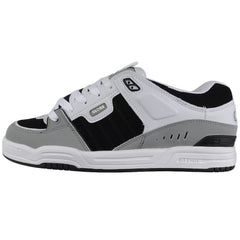 Globe Fusion Skateboard Shoes - Grey/White/Black
