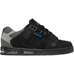 Globe Sabre Skateboard Shoes - Black/Charcoal/Blue