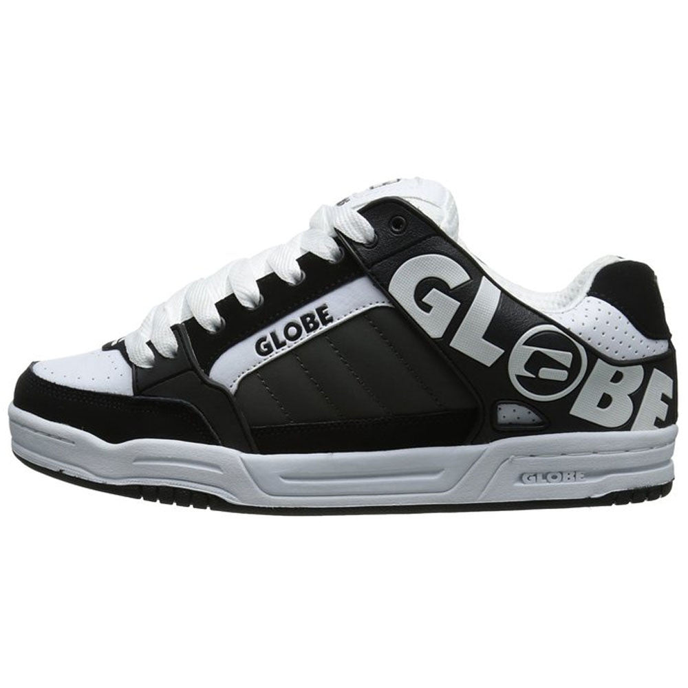 Globe Tilt Skateboard Shoes - Black/White/Charcoal