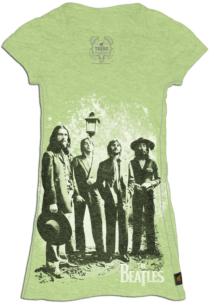 The Beatles - Old Brown Shoe - Green - Womens Shirt
