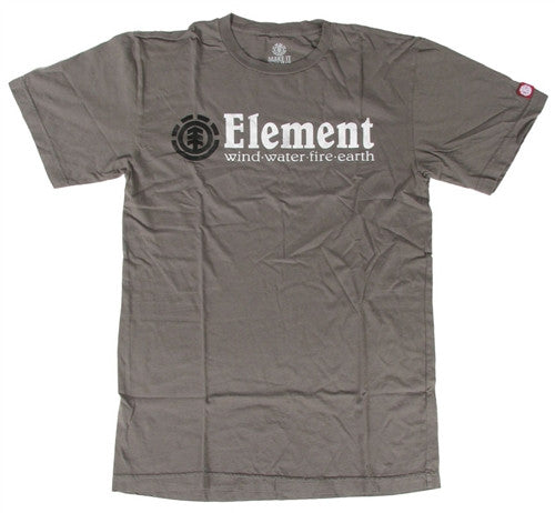 Element Horizontal Mens T-Shirt - Grey