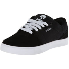 Osiris Decay Men's Skateboard Shoes - Black/Black/White