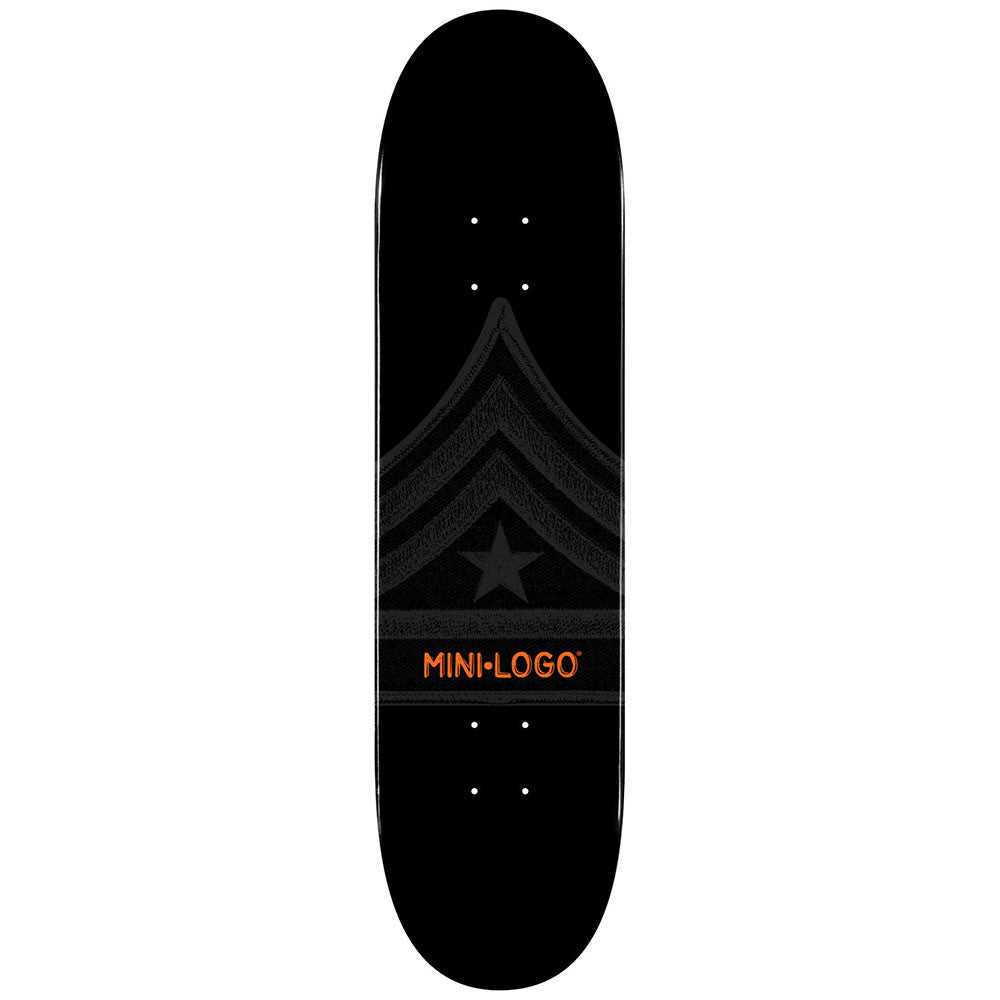Mini Logo Skateboard Deck - 7.5 - Black Quartermaster