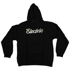 Electric Visual Cursive Pullover - Black - Mens Sweatshirt
