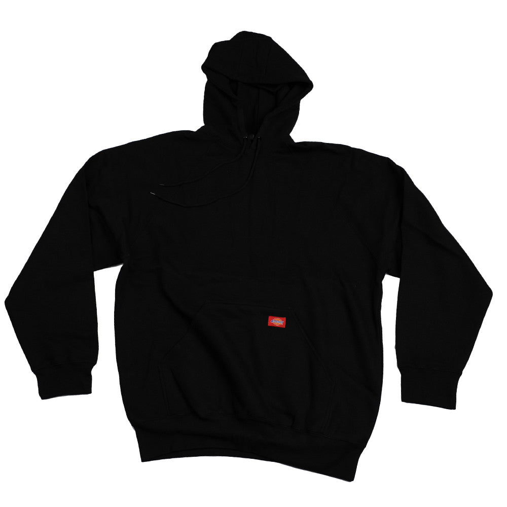 Dickes Raw Hooded Men's Sweatshirt - Black