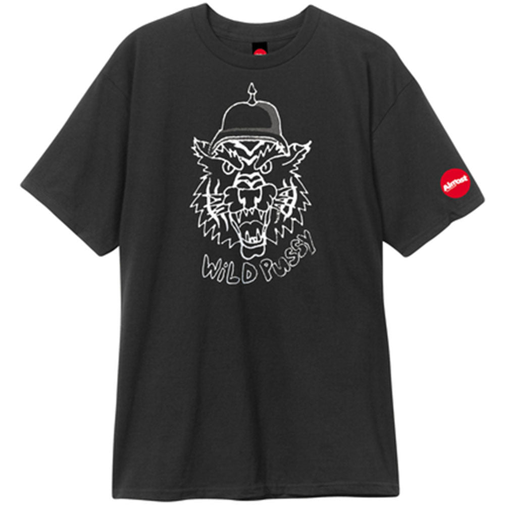 Almost Wild Pussy S/S Men's T-Shirt - Black
