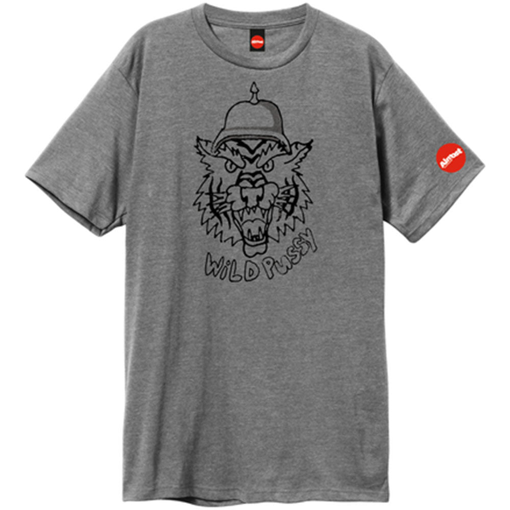 Almost Wild Pussy S/S Men's T-Shirt - Platinum Heather
